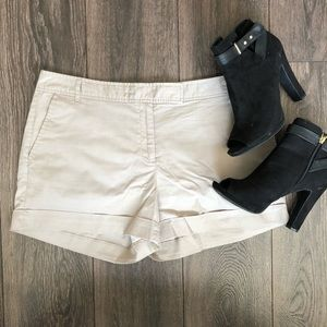 Lightweight Khaki Colored Shorts